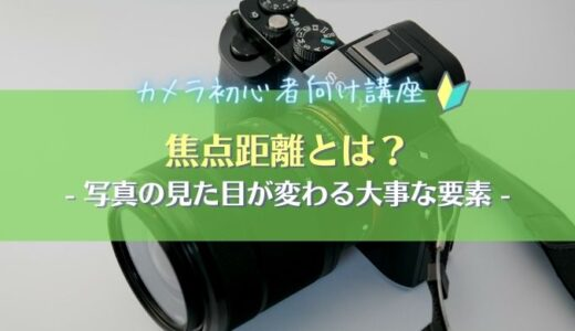 【レンズの画角】焦点距離から撮影範囲(画角)を求める方法を解説|カメラ初心者向け