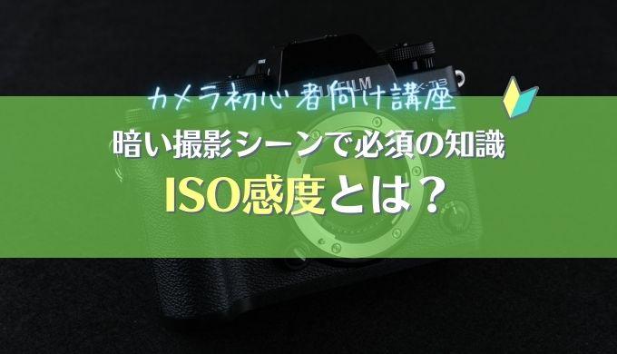【ISO感度とは】明るさ・ノイズ量を抑える設定をマスターしよう|シーン別おすすめ設定