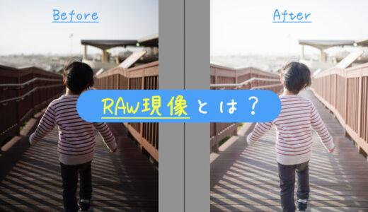RAW現像とは?何ができるのかを分かりやすく解説します カメラ初心者向け