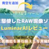 LuminarAIレビュー