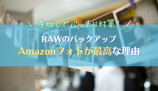 【RAWも無制限】Amazonフォトはカメラユーザーに最高なバックアップ術|AmazonPhotos